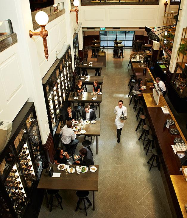 """**Wine List of the Year** **Print Hall, Perth, WA**   The owners of Print Hall have blessed Perth wine-lovers by luring sommelier Daniel Wegener away from Quay in Sydney: the 103-page list that Wegener has put together here is simply outstanding in its global scope, amazing depth and confident character. The list at The Apple Daily, the venue's more casual """"eating house"""", is also excellent - and completely different: everything on it is Western Australian (apart from the sake, of course) and it's refreshingly cheeky and fun."""