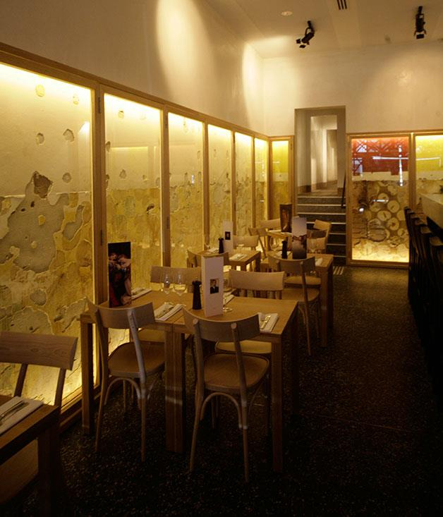 **Bar of the Year** **Bar Di Stasio, Melbourne, Vic**   Ronnie Di Stasio's passion for hospitality, art and architecture combine seamlessly at his St Kilda bar, a beautifully austere place that's like nothing else in the country. Timber and marble, distressed walls and scaffolding-like sculpture combine with finely crafted, beautifully presented drinks and excellent bar food to create the feeling that you're supping in an architectural dig, served by meticulous bartenders in sharp white jackets.