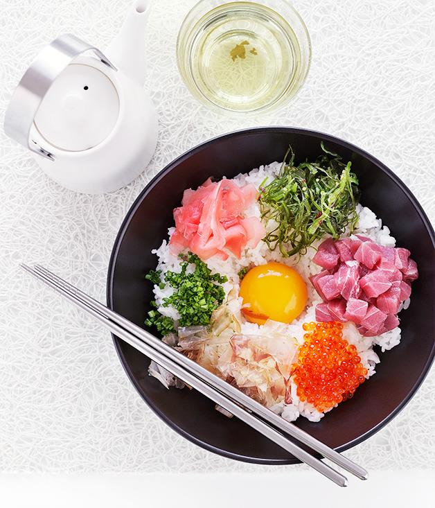 **Japanese rice and egg**