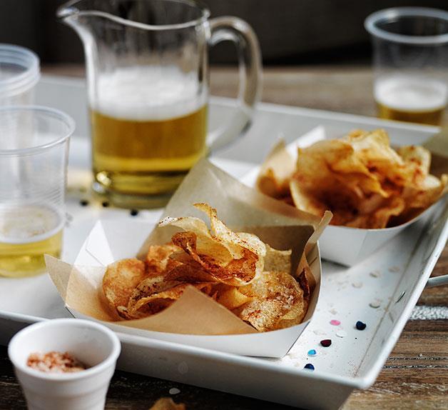 Smoked salt and vinegar chips