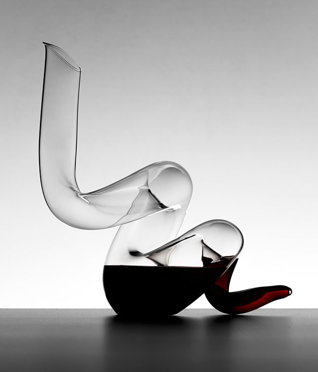 "**RIEDEL BOA DECANTER** Riedel's latest decanter may have been designed to celebrate the Chinese Year of the Snake, but that doesn't mean it can't make a winning Father's Day gift as well. Oenophiles will appreciate its double-decanting curves and sleek serpentine style. _$799.95, [riedelglass.com.au](http://riedelglass.com.au ""Riedel "")_"