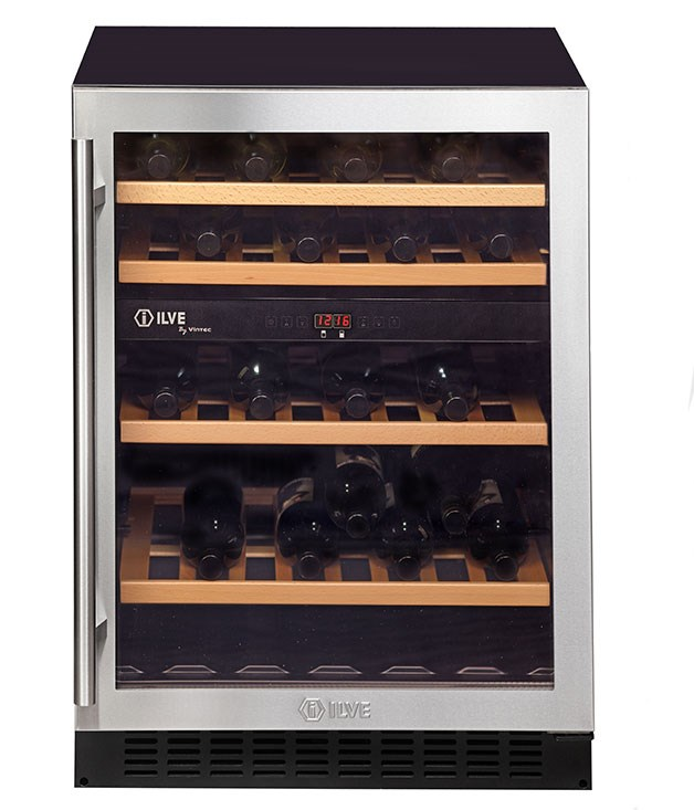 "**ILVE FREESTANDING DUAL-ZONE WINE CELLAR** This freestanding wine cellar from Ilve doesn't just look the part, it also stores up to 40 bottles in two separate temperature- and humidity-controlled cabinets, ensuring Dad's most prized drops don't spoil. _$1899, [ilve.com.au](http://www.ilve.com.au ""Ilve "")_"
