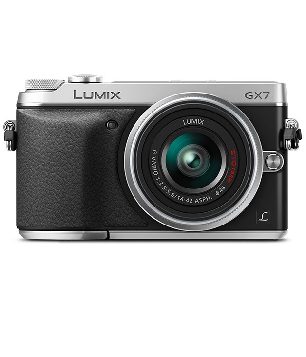 "**PANASONIC LUMIX DMC-GX7 CAMERA** Something for a snap-happy dad: Panasonic's new interchangeable-lens camera blends retro looks and a classic viewfinder with a 7.6cm tilting touchscreen and WiFi connectivity so he can quickly share his shots on the go. _$1249, [panasonic.com](http://www.panasonic.com ""Panasonic"")_"