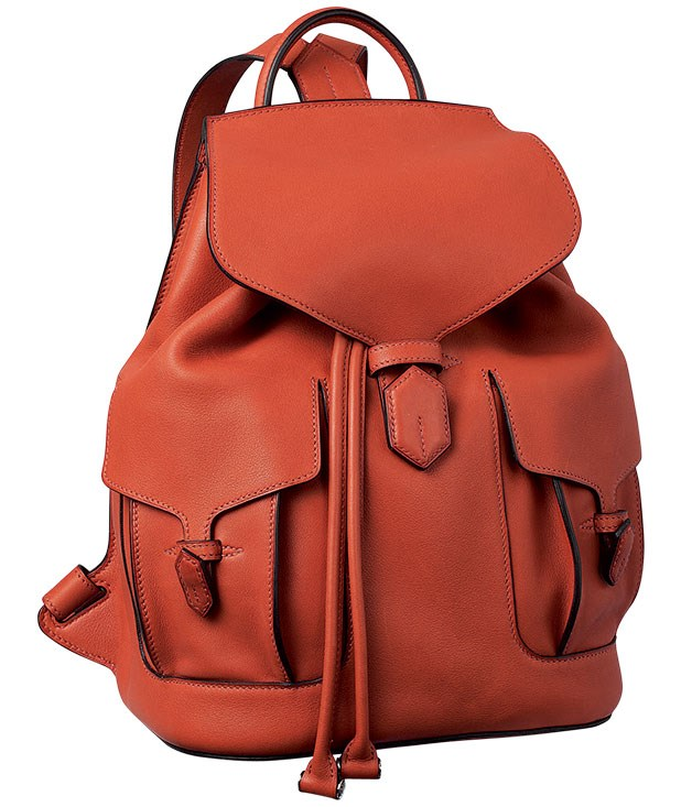 """****  [Hermès](http://australia.hermes.com """"Hermes"""") calfskin backpack, $16,590."""