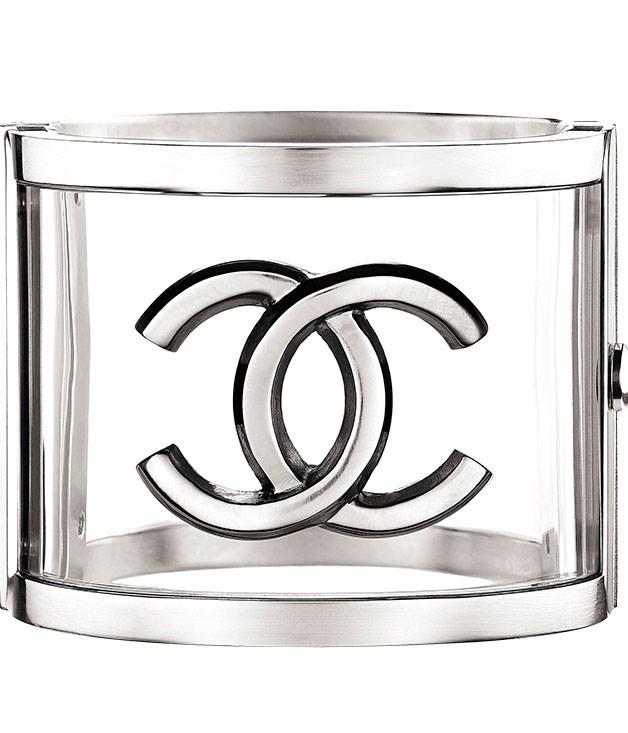 "**** [Chanel](http://chanel.com ""Chanel"") cuff, $1770."