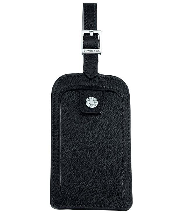 """**** [Tiffany & Co](http://tiffany.com.au """"Tiffany & Co"""") leather luggage tag, $110."""