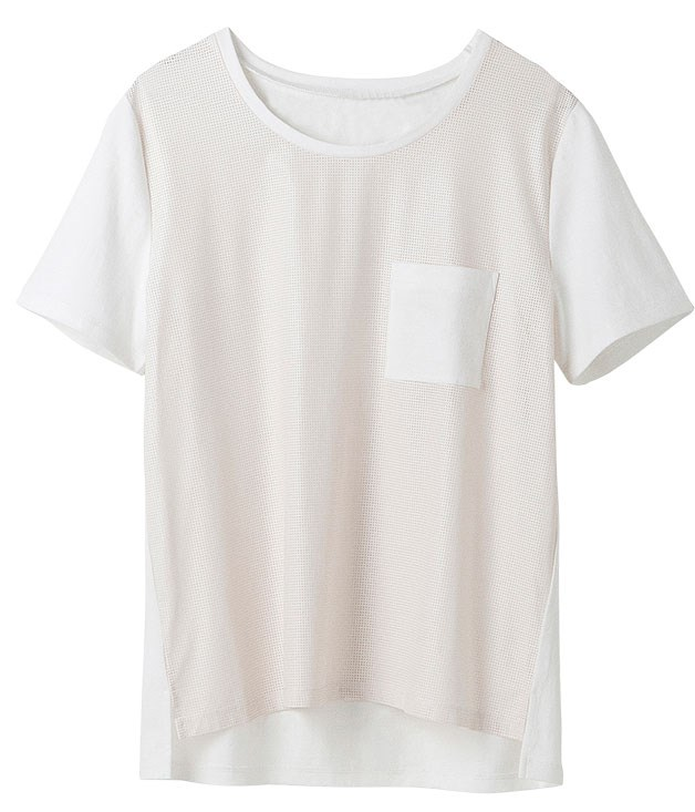 "**** [Country Road](http://countryroad.com.au ""Country Road"") ""Perforated"" T-shirt, $59.95."