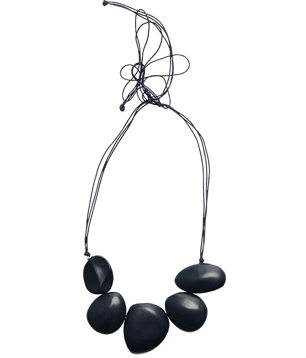 "**** [Dinosaur Designs](http://dinosaurdesigns.com.au ""Dinosaur Designs"") necklace, $246."
