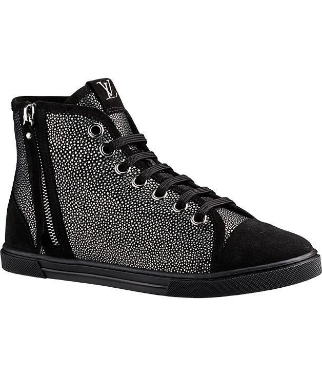 """**** [Louis Vuitton](http://www.louisvuitton.com.au/front/#/eng_AU/Homepage """"Louis Vuitton"""") """"Punchy"""" sneakers, $2050."""