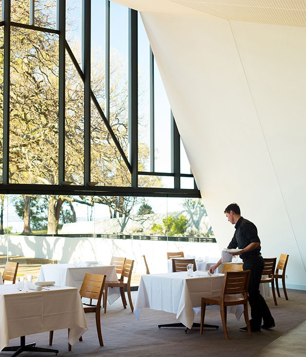 **REGIONAL RESTAURANT OF THE YEAR** **The Stackings, Woodbridge, Tas**   While The Stackings overdelivers on picture-perfect dining, with magnificent views across some of Tasmania's most southerly waterways, it would be for nothing if it wasn't for David Moyle's inspired cooking. They seem ethereally light but the flavours are strong. With only weekend lunches to worry about, and a three- and five-course menu he writes for each service, he has the sort of freedom and flexibility most chefs can only dream of. It's what good country dining is all about.      Photography Samuel Shelley