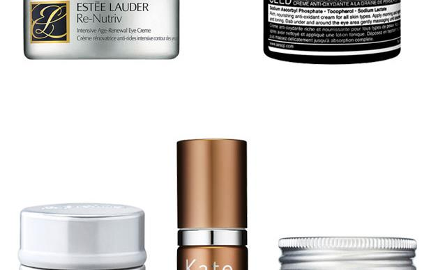 Vanity case: eye creams