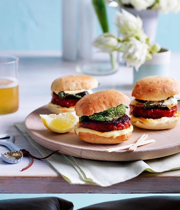 "[**Bocadillos de chorizo**](https://www.gourmettraveller.com.au/recipes/chefs-recipes/bocadillos-de-chorizo-9139|target=""_blank"")"
