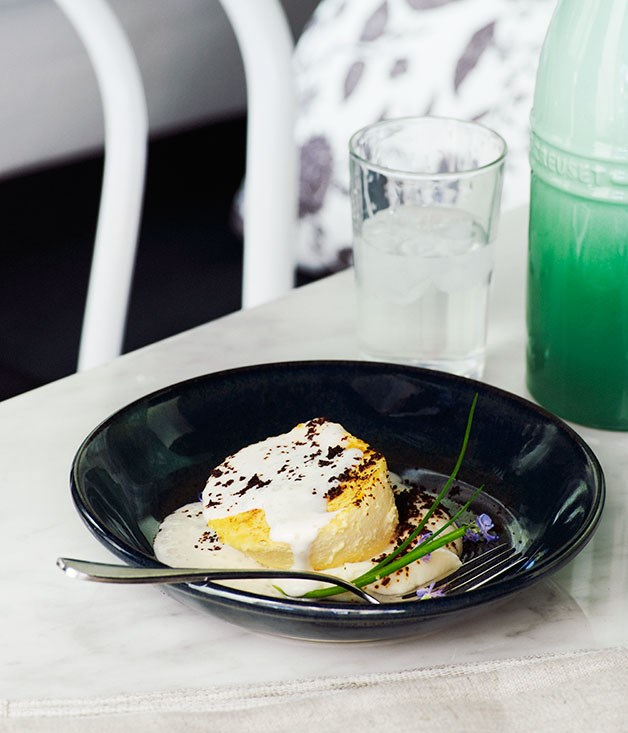 """**Vincent, Sydney** With house-made cheeses, a hand-buffed all-French wine list and an engaging menu featuring the likes of [Comté custard](http://www.gourmettraveller.com.au/recipes/recipe-search/chefs-recipes/2013/10/comte-custard/), [chicken in yellow wine](http://www.gourmettraveller.com.au/recipes/recipe-search/chefs-recipes/2013/10/poulet-au-vin-jaune/), and a dangerously good [baba au rhum](http://www.gourmettraveller.com.au/recipes/recipe-search/video/2013/9/baba-au-rhum/), [Vincent](http://www.gourmettraveller.com.au/restaurants/restaurant-news-features/2013/9/hot-plates-26913/ """"HOT PLATES 26/9/13""""), the Buzo clan's foray into French food, is a restaurant on the fast-track to neighbourhood-favourite status."""