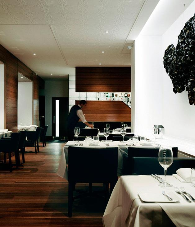 "[Urbane](http://www.gourmettraveller.com.au/dining-out/restaurant-reviews/urbane-7083|target=""_blank"") <br><br>"