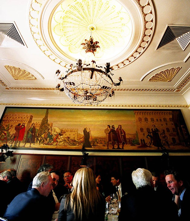 "**Grossi Florentino** A renovation in early 2013 saw Melbourne's grandest Italian restaurant emerge not just looking the goods with a new private room, bar and bathrooms but with the entire package displaying newfound spring and swagger.  Read our full [review of Grossi Florentino](http://www.gourmettraveller.com.au/restaurants/restaurant-guide/restaurant-reviews/g/grossi/grossi-florentino/ ""Grossi Florentino"")."