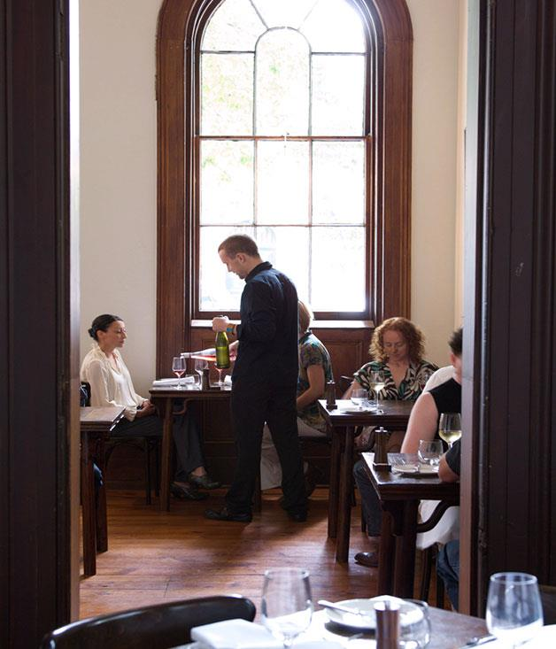 """**Provenance** A heritage-listed converted 19th-century bank is the modern, comfortable space that houses Provenance, one of Australia's finest regional restaurants.  Read our full review of [Provenance](http://www.gourmettraveller.com.au/restaurants/restaurant-guide/restaurant-reviews/p/provenance/provenance/ """"Provenance"""")."""