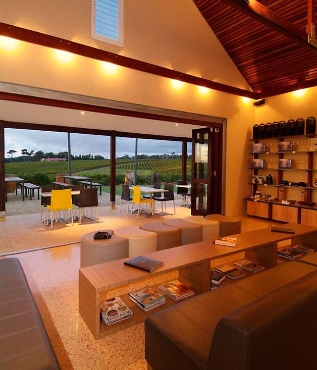 "**Wills Domain** Guess who's back? Just as he did at Knee Deep, Brad Hornby is making another Margaret River cellar door famous for more than just its grapes...  Read our full review of [Wills Domain](http://www.gourmettraveller.com.au/restaurants/restaurant-guide/restaurant-reviews/w/wills/wills-domain/ ""Wills Domain"")."