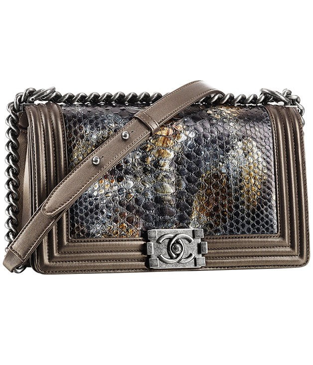 **Chanel debut**  Chanel opens its Melbourne flagship boutique this month in a six-storey 1920s building at 140 Flinders Lane. To mark the housewarming, a limited-edition Boy Chanel handbag has been fashioned in metallic shades from leather and python skin and is available exclusively at the boutique for $6,880. (03) 9655 2200.