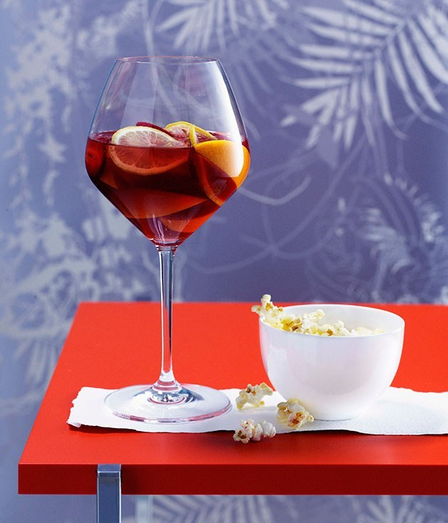 "[**Strawberry, cognac and white wine sangria**](https://www.gourmettraveller.com.au/recipes/chefs-recipes/strawberry-cognac-and-white-wine-sangria-7310|target=""_blank"")"