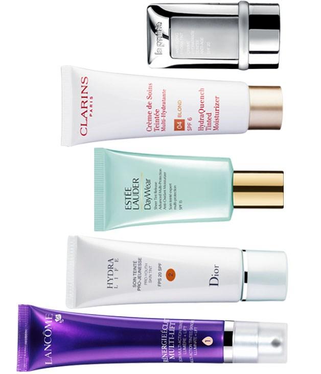 Vanity case: tinted moisturisers