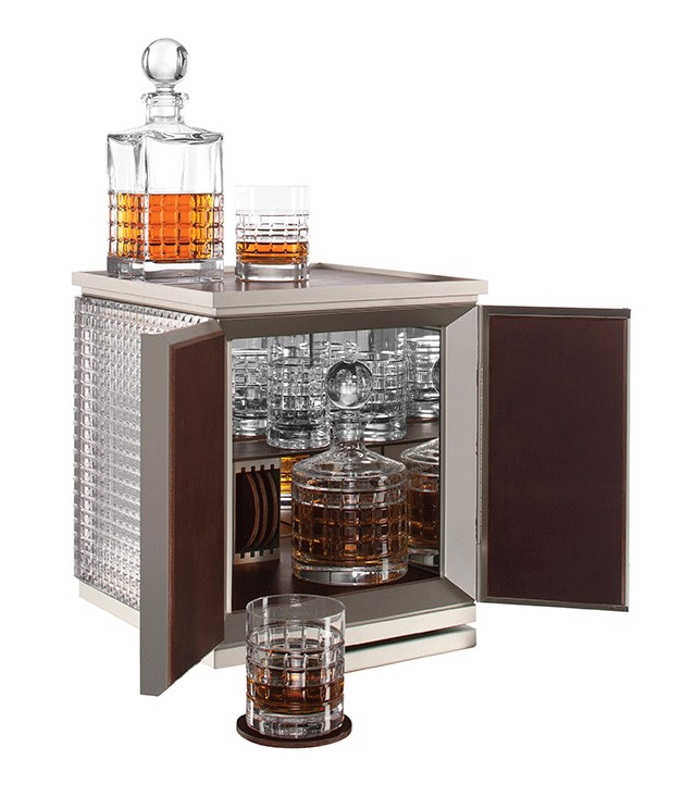 "**Waterford London Desktop Bar** It's smart, it's sparkly and it stores all of your drinking paraphernalia. What's not to love about this Waterford desktop bar? Comes complete with all the trimmings - two decanters, a pair of tumblers, a pair of highballs and a leather tray and coaster set. Win. _$17,999, [wwrd.com.au](http://www.wwrd.com.au/ ""WWRD"")_"
