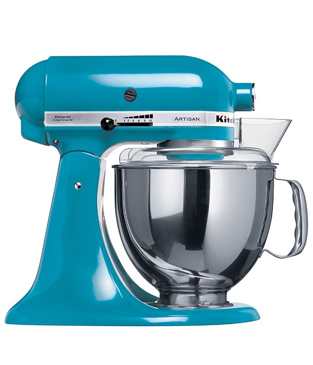 "**KitchenAid artisan mixer** Ah, KitchenAid. How do you improve on perfection? How about with four new colours: Crystal Blue, Watermelon, Truffle and Cocoa Silver. _$779, [kitchenaid.com.au](http://www.kitchenaid.com.au ""KitchenAid"")_"