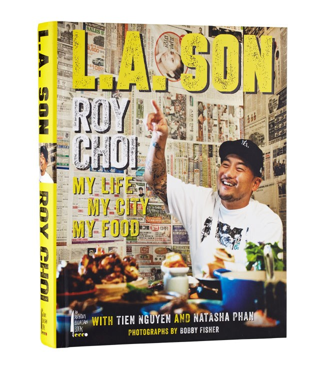 "**LA Son** Roy Choi, the honcho of Los Angeles' Kogi taco trucks and one of our favourite American chefs, has just released his first book, _LA Son._ It's a memoir told through recipes such as LA Dirty Dog and Perfect Instant Ramen, all seasoned heartily with some thoroughly colourful language. _$29, [bookdepository.com](http://www.bookdepository.com/ ""The Book Depository"")_"