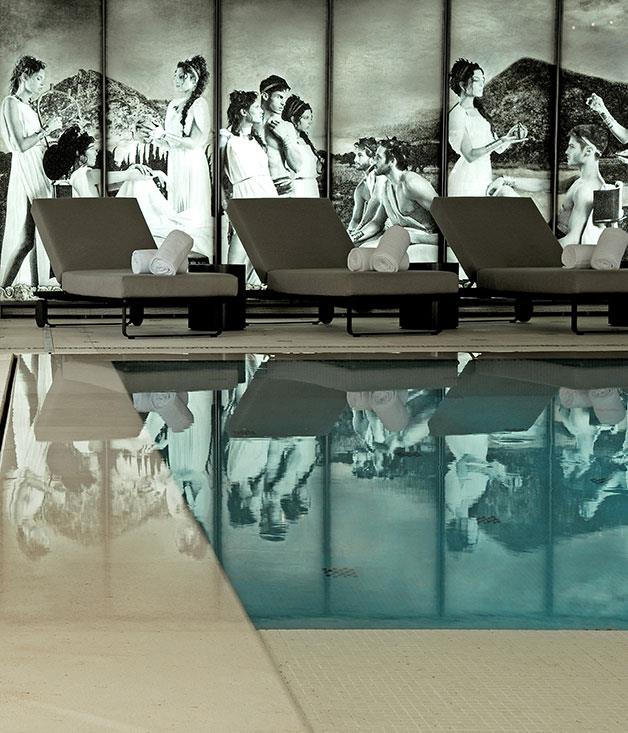 **Hotel Metropole Monte Carlo, Monaco** A celebrity favourite, the Karl Lagerfeld-designed indoor pool at the [Hotel Metropole](http://www.metropole.com/en/home) in Monte Carlo is as luxe as they come.