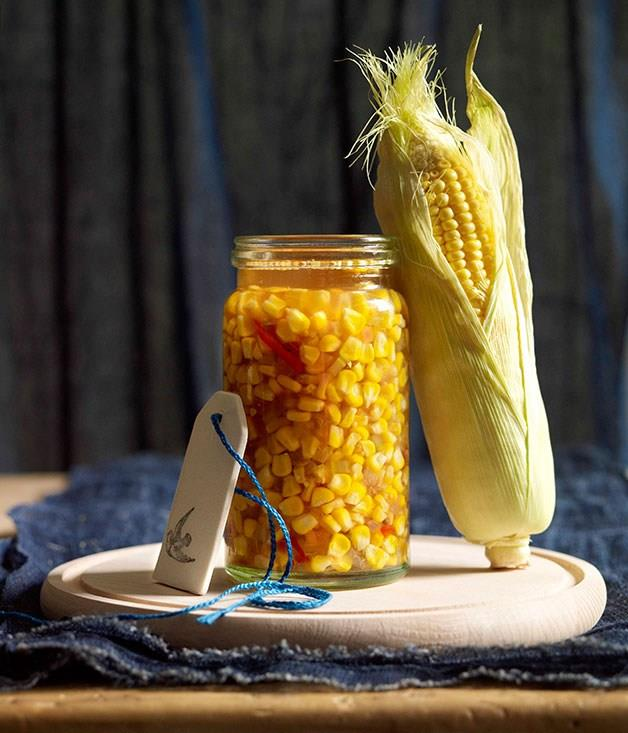 **Summer corn relish**