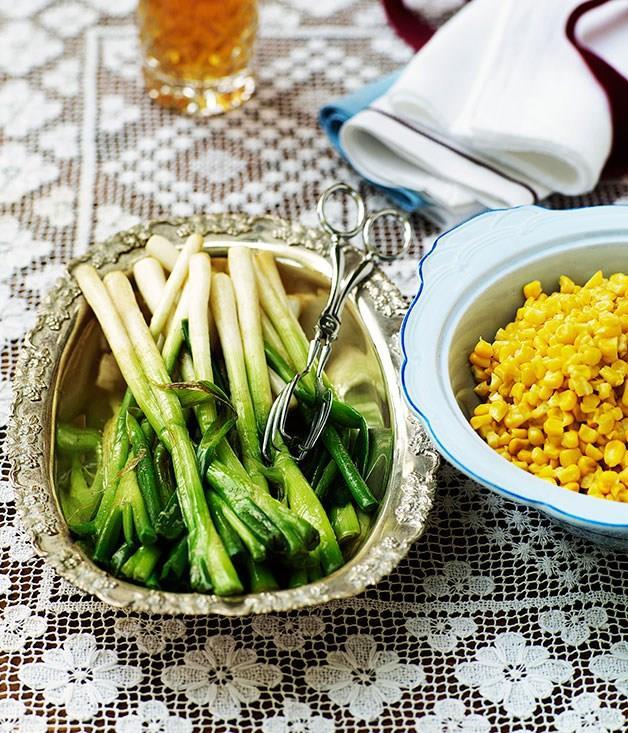 **Creamed corn**