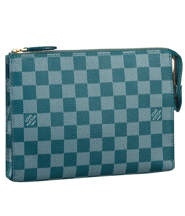 "**Louis Vuitton ""Damier Coulers Element""** Passport, money, make-up, you name it - these nifty little A5-sized pouches from Louis Vuitton are perfect for carting around essentials when you're on the go. _$840, [louisvuitton.com](http://www.louisvuitton.com ""Louis Vuitton"")_"
