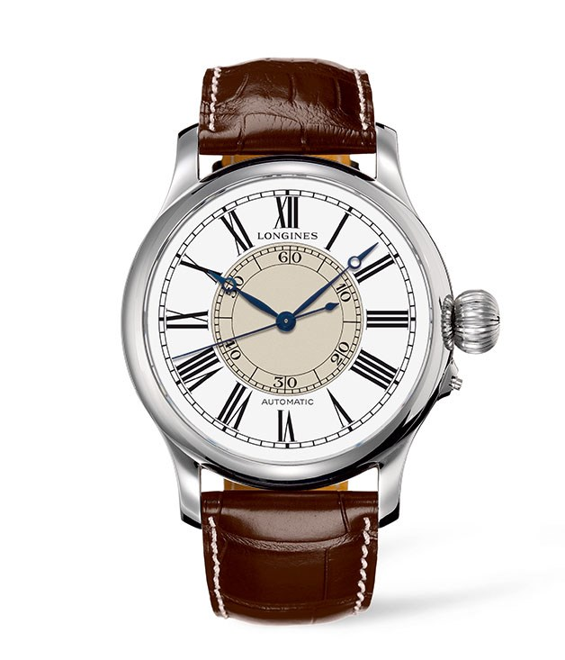 "**Longines Weems Second-Setting watch** Here's one for the less-punctual. This Longines heritage timepiece is as sharp as they come, with painted Roman numerals, striking blue steel hands and self-winding mechanical movement. The wearer will never miss another beat. _$5275, [longines.com](http://www.longines.com ""Longines "")_[](http://www.longines.com ""Longines "")"