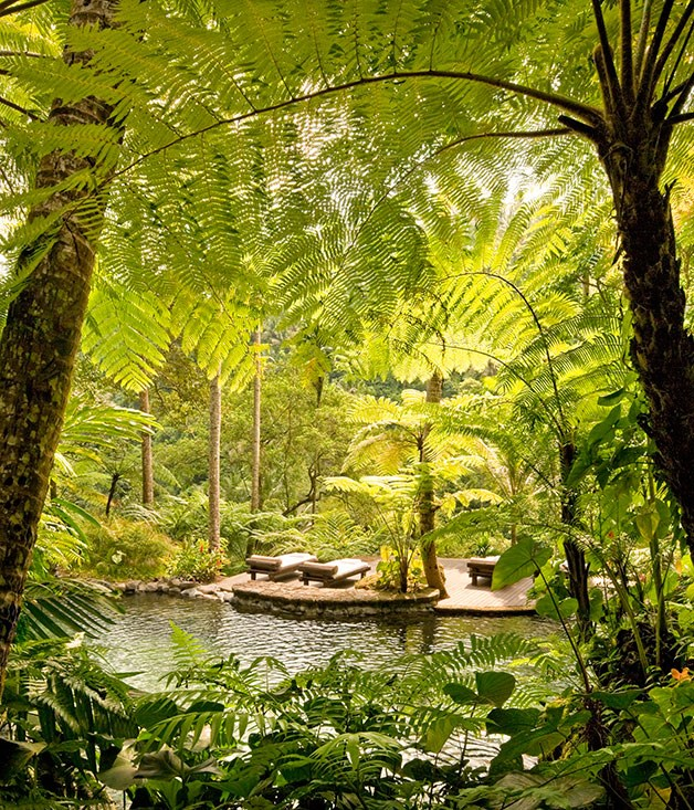 """**COMO SHAMBHALA, BALI, INDONESIA** It's hard to beat the seclusion at [Como Shambhala](http://www.comoresorts.com/ """"Como Resorts"""")'s natural spring-water pools on the banks of the Ayung River in Ubud, Bali."""