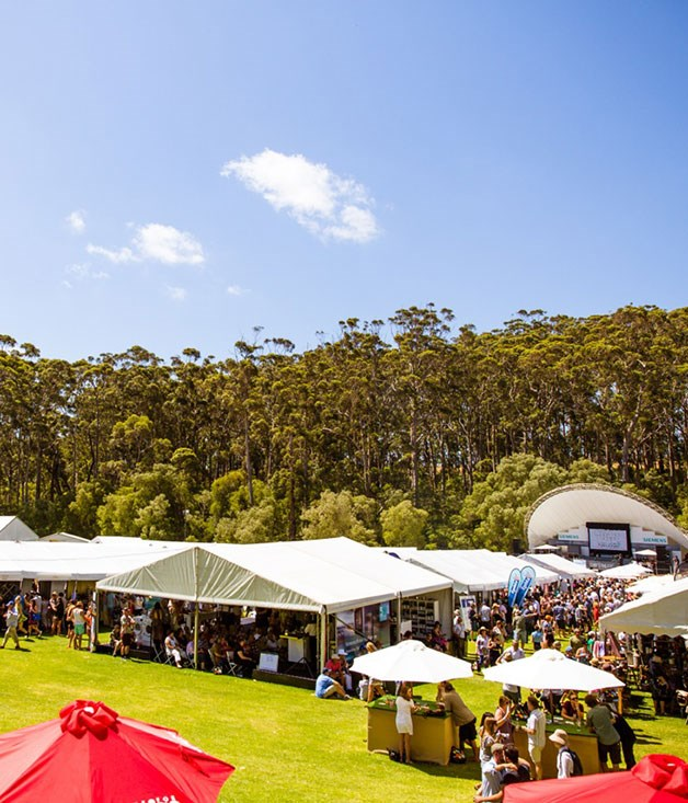 **** The Gourmet Village at Leeuwin Estate, the hub of the Gourmet Escape.