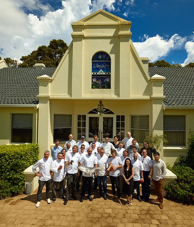 **** The class of 2013 at Cape Lodge.