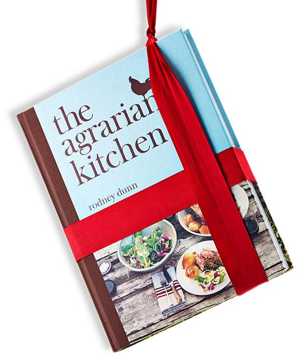 **The Agrarian Kitchen** Rodney Dunn (Lantern, $59.99, hbk)   Full disclosure: Rodney Dunn is awesome. And he's a member of the _GT_ family, having been a food editor before decamping to Tassie to open The Agrarian Kitchen with his wife Séverine in 2007. The book is very true to the cooking school's ethos, organised by season, focused on produce and photographed beautifully by Dunn's friend and (Garagistes chef) Luke Burgess. Dunn is an avowed fan of the Chez Panisse books, especially those co-authored by Paul Bertolli, and there's a similar mixture of freshness and detail-orientiation in his own work. Whether you're looking at a three-ingredient recipe for damson gin or the more highfalutin' likes of guinea fowl cooked in clay, there's a clear sense that everything in the book is there because Dunn has tried it and it works.   Cookability: 9/10. Readability: 8/10. Pictures: 10/10. Go-to dish: buttermilk blueberry scones with honey butter.