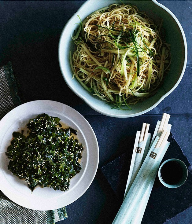 **Wakame seaweed salad**