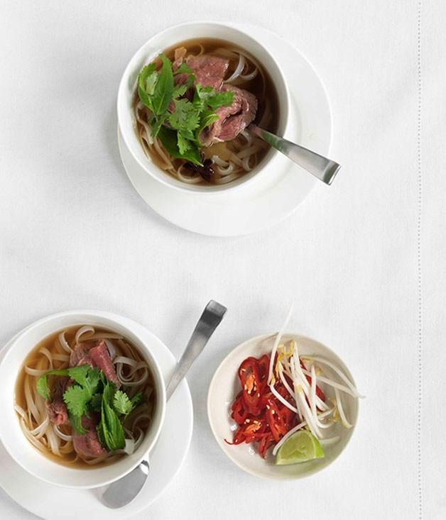 **Vietnamese beef noodle soup**