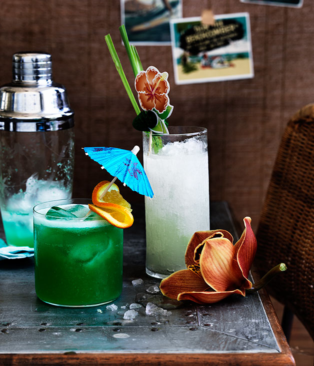blue hawaii recipe cocktail recipe gourmet traveller. Black Bedroom Furniture Sets. Home Design Ideas