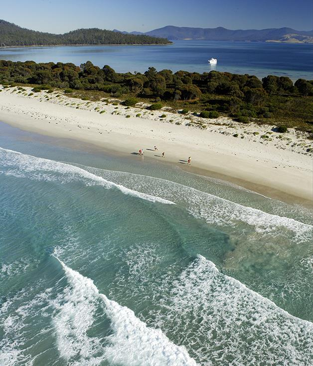 """**Maria Island** This mountainous little island off the coast of Tasmania is a hit among trekkers, with its isolated beaches, dense forests and old penal colony structures. A real gem. [_parks.tas.gov.au_](http://www.parks.tas.gov.au/?base=3495 """"Maria Island"""")"""