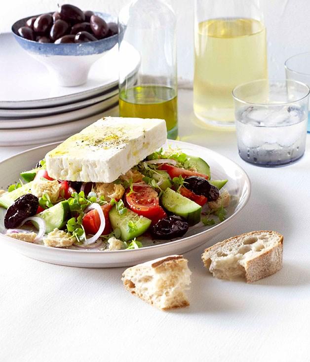 Cretan village salad