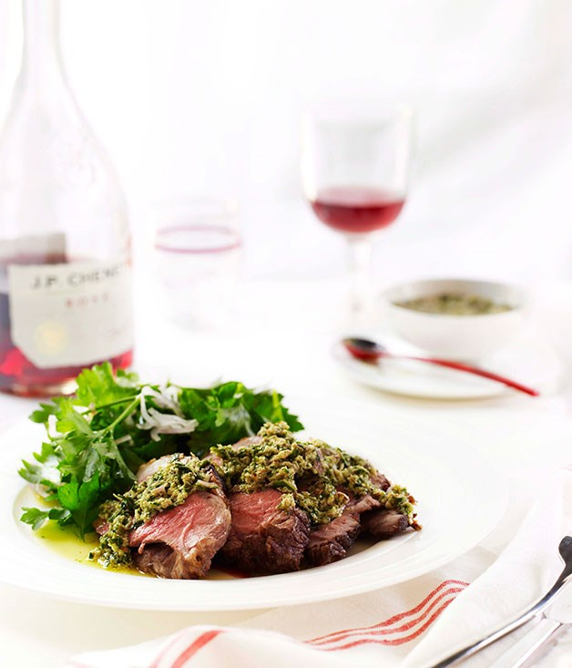 Lamb with capers and anchovies