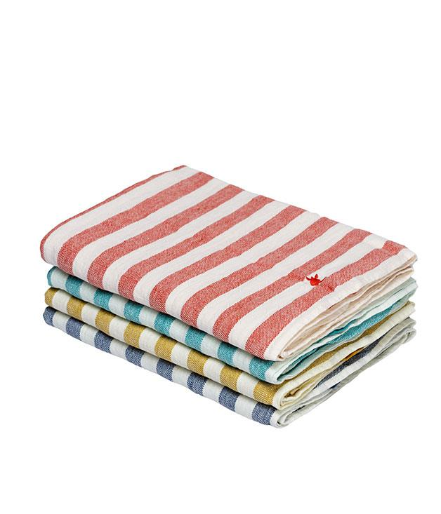 """**Coast beach towel** This is not your average beach towel. The """"Laguna"""", a washed-linen number from New Zealand brand Coast, also works as a blanket, wrap or sarong. Nice. _$134,_ [_coastnewzealand.com_](http://www.coastnewzealand.com """"Coast"""")"""