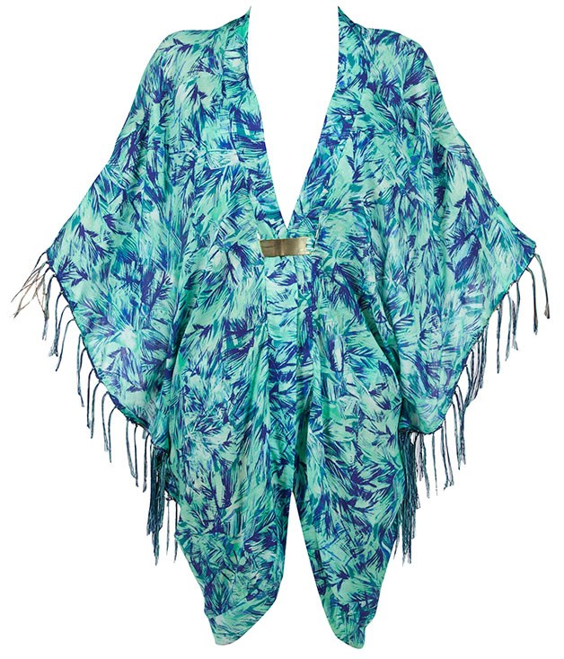"**Jets banded kaftan** Make your way from the beach to the bar in effortless style in this breezy kaftan from Jets. _$99.95,_ [_jets.com.au_](http://www.jets.com.au ""Jets"")"