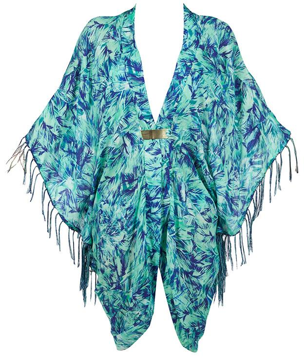 """**Jets banded kaftan** Make your way from the beach to the bar in effortless style in this breezy kaftan from Jets. _$99.95,_ [_jets.com.au_](http://www.jets.com.au """"Jets"""")"""