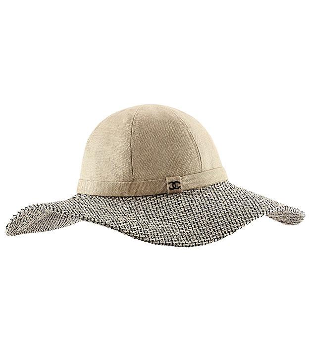 """**Chanel hat** This cotton and tweed Chanel hat doesn't just look the part - its wide brim makes sure those harsh summer rays are kept well at bay. _$830,_ [_chanel.com_](http://www.chanel.com.au """"Chanel"""")"""
