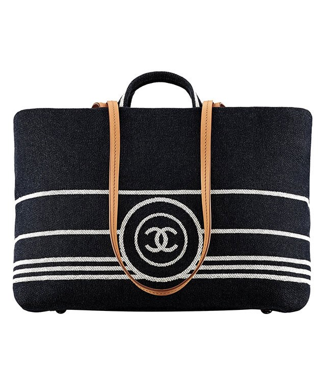 "**Chanel bag** Looking for something to cart all your beach and pool gear around in? Try this dark denim tote from Chanel. It comes with a handy leather strap and plenty of space for all your towel, book, and sunblock needs. _$2600,_ [_chanel.com_](http://www.chanel.com.au ""Chanel"")"