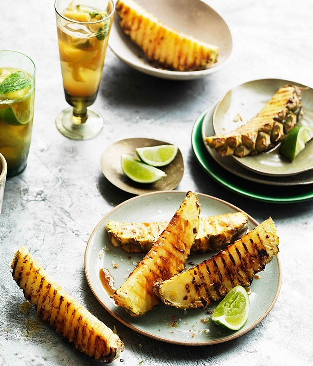Grilled pineapple - pineapple recipes