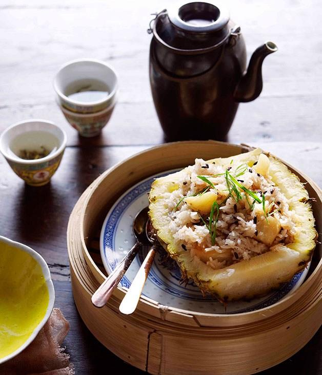 "[**Pineapple rice (bo luo fun)**](https://www.gourmettraveller.com.au/recipes/browse-all/pineapple-rice-bo-luo-fun-11274|target=""_blank"")"