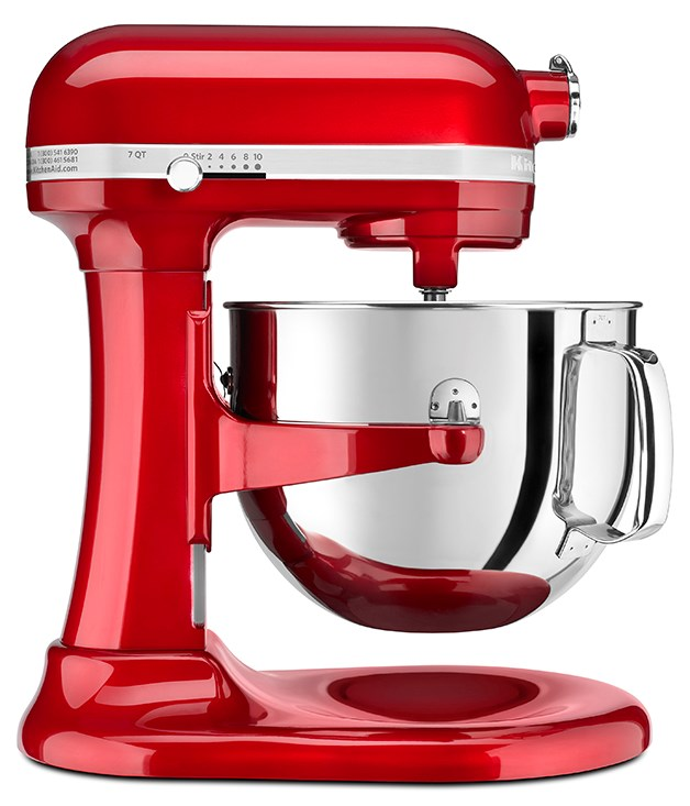 "**KitchenAid Pro Line mixer** Serious bakers will fall head over heels for you and this limited edition KitchenAid Pro Line mixer. It's powered by the mightiest engine in the [KitchenAid](http://kitchenaid.com.au/au/ ""KitchenAid"") family, and has a massive 6.9-litre capacity for all your cake, bread and pasta dough needs. This candy-apple version is bang-on for Valentine's Day. $1,199.00."